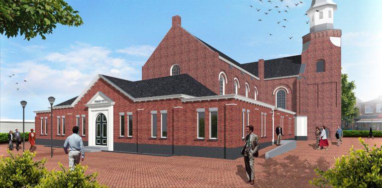 NUNSPEEt, uitbreiding Dorpskerk hervormde gemeente Nunspeet