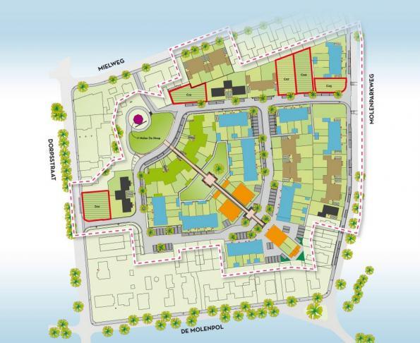 Lunteren, nieuwbouw woningen DE MOLENPOL – PROJECTONTWIKKELING